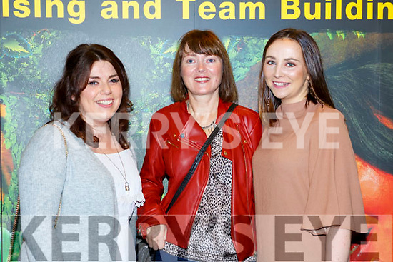 Joanne Moynihan, Mary Murphy and Eve O'Donoghue at the Killarney I'm a Celebrity in the INEC on Thursday night