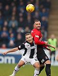 20.10.2018 St Mirren v Kilmarnock:  Kris Boyd and Lee Hodson