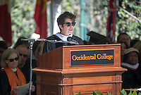 "Honorary degree recipient and main Commencement speaker Elizabeth Diller, recipient of a MacArthur ""genius"" grant and an associate professor of architecture at Princeton since 1990, and a founding principal of Diller Scofidio + Renfro design studio.<br />