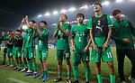 07.09.2017, Stadion, Tianjin, CN. 13. Nationalen Chinesischen Fussballspielen, Zhejiang vs Shangai, im Bild , <br /> <br /> <br /> im Bild Yuning Zhang (Werder Bremen #19) im Finale im grünen Trikot - enttäuscht / enttaeuscht / traurig  dank an die Fans<br /> Foto © nordphoto / Oscar <br /> <br /> ++++ Attention ++++ ALL RIGHTS RESERVED Kein -Facebook -Twitter -Instagram -Social Media Web, keine online Galerie Pauschale,  Honorar und Belegexemplar Star People