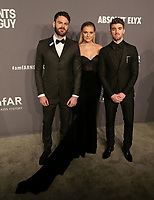 06 February 2019 - New York, NY - Alex Pall, Kelsea Ballerini, Andrew Taggart. 21st Annual amfAR Gala New York benefit for AIDS research during New York Fashion Week held at Cipriani Wall Street.  <br /> CAP/ADM/DW<br /> &copy;DW/ADM/Capital Pictures