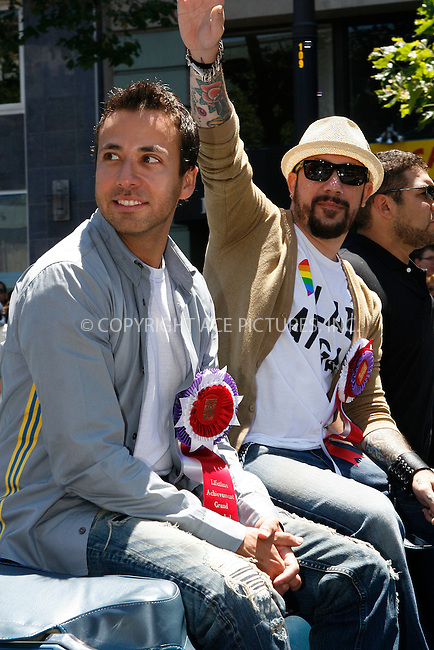 WWW.ACEPIXS.COM . . . . .  ....June 27 2010, San Francisco....The Backstreet Boys attended the Gay Pride parade on June 27 2010 in San Francisco....Please byline: NANCY RIVERA- ACEPIXS.COM.... *** ***..Ace Pictures, Inc:  ..Tel: 646 769 0430..e-mail: info@acepixs.com..web: http://www.acepixs.com