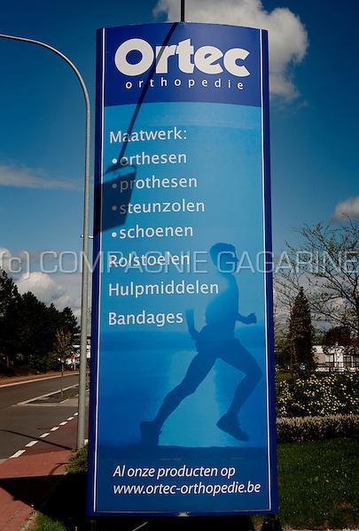 The Ortec Orthopedie headquarters in the Haasrode research park in Heverlee (Belgium, 01/05/2010)