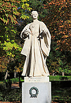 Statue of Berenguela of Castille died 1246  El Retiro Park, Madrid, Spain