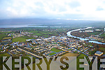 Aerial photos of Killorglin County Kerry.