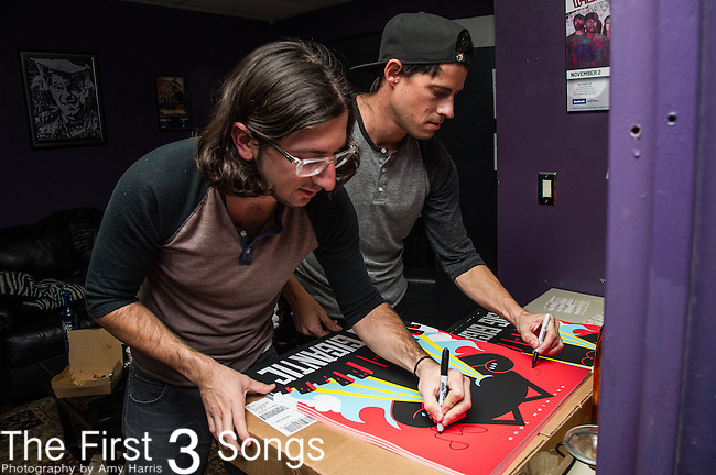 Dominic Lalli and Jeremy Salken of Big Gigantic performs at Bogarts in Cincinnati, Ohio.