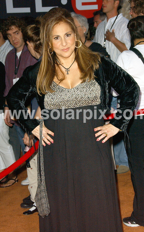 **ALL ROUND PICTURES FROM SOLARPIX.COM**.**SYNDICATION RIGHTS FOR UK, SPAIN, PORTUGAL, AUSTRALIA, S.AFRICA & DUBAI (U.A.E) ONLY**.The  film WALL.E World Premiere at the Greek Theatre in Los Angeles, California in the USA.  .This pic:Kathy Najimy..JOB REF:6708-PHZ/Albert L. Ortega    DATE:21_06_08 .**MUST CREDIT SOLARPIX.COM OR DOUBLE FEE WILL BE CHARGED* *UNDER NO CIRCUMSTANCES IS THIS IMAGE TO BE REPRODUCED FOR ANY ONLINE EDITION WITHOUT PRIOR PERMISSION*