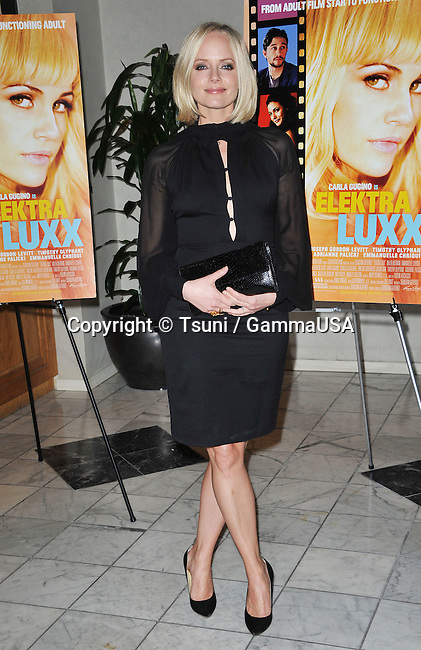 Marley Shelton at  The Elektra Luxx Premiere at the Aidikoff Screening Room in Beverly Hlils.
