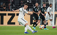 Niklas Süle (Deutschland Germany) - 09.10.2019: Deutschland vs. Argentinien, Signal Iduna Park, Freunschaftsspiel<br /> DISCLAIMER: DFB regulations prohibit any use of photographs as image sequences and/or quasi-video.