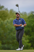 Roberto Diaz (MEX) watches his tee shot on 4 during round 3 of the AT&T Byron Nelson, Trinity Forest Golf Club, Dallas, Texas, USA. 5/11/2019.<br /> Picture: Golffile | Ken Murray<br /> <br /> <br /> All photo usage must carry mandatory copyright credit (© Golffile | Ken Murray)