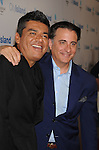 "LOS ANGELES, CA. - March 15: George Lopez and Andy Garcia arrive at the Los Angeles premiere of ""City Island"" held at Westside Pavillion Cinemas on March 15, 2010 in Los Angeles, California."