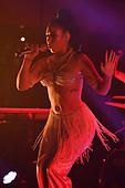 FORT LAUDERDALE FL - OCTOBER 03: Kali Uchis performs at Revolution on October 3, 2018 in Fort Lauderdale, Florida. : Credit Larry Marano © 2018