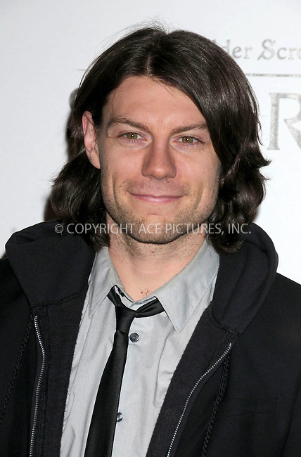 WWW.ACEPIXS.COM . . . . .  ..... . . . . US SALES ONLY . . . . .....November 8 2011, LA....Patrick Fugit arriving at the Skyrim video game launch held at the Belasco Theater on November 8 2011 in Los Angeles....Please byline: FAMOUS-ACE PICTURES... . . . .  ....Ace Pictures, Inc:  ..Tel: (212) 243-8787..e-mail: info@acepixs.com..web: http://www.acepixs.com
