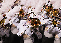 NWA Democrat-Gazette/BEN GOFF @NWABENGOFF<br /> The Bentonville Pride marching band performs on Friday Sept. 25, 2015 during halftime of the game against Fort Smith Southside in Bentonville's Tiger Stadium.