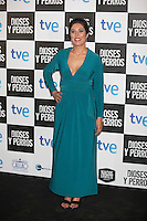 Lucia Alba poses at `Dioses y perros´ film premiere photocall in Madrid, Spain. October 07, 2014. (ALTERPHOTOS/Victor Blanco) /nortephoto.com