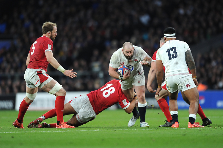 during the Guinness Six Nations match between England and Wales at Twickenham Stadium on Saturday 7th March 2020 (Photo by Rob Munro/Stewart Communications)