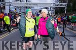 Leanne Mc Carthy and Maura Shortt at the Good Friday 5 miles run in Killarney last Friday.