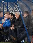 Nederland, Heerenveen, 22 december  2012.Eredivisie.Seizoen 2012/2013.Heerenveen-Vitesse 2-1.Fred Rutten, trainer-coach van Vitesse baalt