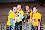 Darkness into Light: Attending the Darkness into Light fund raiser at the race course in Listowel on Saturday morning last were  Lauren Breen, Tracey Kelliher, Grace Ryan & Ciana Murphy.