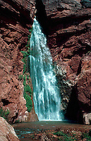 Deer Creek Falls on the Colorado River in Grand Canyon National Park. Arizona.
