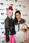 Signer Erin Woods and Actress Rosario Dawson -Arrivals-Boy Meets Girl By Stacy Igel At New York Fashion Week Style360, NY 2/13/13