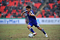 Shinji Okazaki (JPN), NOVEMBER 11, 2011 - Football / Soccer : 2014 FIFA World Cup Asian Qualifiers Third round Group C match between Tajikistan 0-4 Japan at Central Stadium in Dushanbe, Tajikistan. (Photo by Jinten Sawada/AFLO)