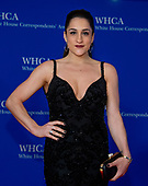 Olympian Jordyn Wieber arrives for the 2018 White House Correspondents Association Annual Dinner at the Washington Hilton Hotel on Saturday, April 28, 2018.<br /> Credit: Ron Sachs / CNP<br /> <br /> (RESTRICTION: NO New York or New Jersey Newspapers or newspapers within a 75 mile radius of New York City)