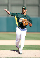 Tyson Ross - Oakland Athletics - 2009 spring training.Photo by:  Bill Mitchell/Four Seam Images
