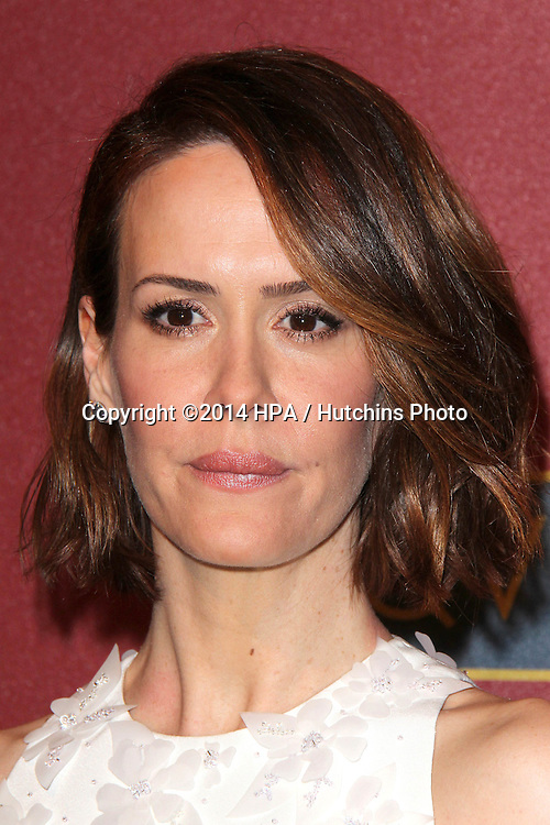 LOS ANGELES - MAR 1:  Sarah Paulson at the QVC 5th Annual Red Carpet Style Event at the Four Seasons Hotel on March 1, 2014 in Beverly Hills, CA