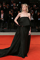 "VENICE, ITALY - SEPTEMBER 07: Elizabeth Debicki walks the red carpet ahead of the ""The Burnt Orange Heresy"" during the 76th Venice Film Festival at Sala Grande on September 07, 2019 in Venice, Italy. (Photo by Mark Cape/Insidefoto)<br /> Venezia 07/09/2019"