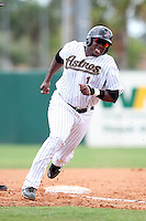 GCL Astros Telvin Nash #1 during a game against the GCL Marlins at Osceola County Stadium on June 25, 2011 in Kissimmee, Florida.  The Astros defeated the Marlins 5-2 after the game was ended in the sixth inning due to heavy rain.   (Mike Janes/Four Seam Images)