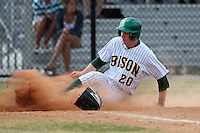 March 17, 2010:  First Baseman Zach Wentz (20) of North Dakota State University Bison vs. Akron University at Chain of Lakes Park in Winter Haven, FL.  Photo By Mike Janes/Four Seam Images