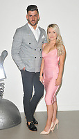 Daniel James and Olivia Beaumont at the &quot;True Love or True Lies?&quot; MTV brand new show launch  photocall, MTV HQ, Hawley Crescent, London, England, UK, on Tuesday 07 August 2018.<br /> CAP/CAN<br /> &copy;CAN/Capital Pictures