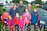Glin Coursing Day, Sunday 06-10-2013.  Pictured back row L-R : Niall King of Ballyhahill, Maurice Fitzgerald of Askeaton and Pat Sheehan of Glin.  Front row R-L : Jack Sheehan of Glin, Olivia Fitzgerald and baby Aisling of Askeaton, Eibhlin Fitzgerald of Askeaton, Killian Carrig of Askeaton and Anna Fitzgerald of Askeaton.