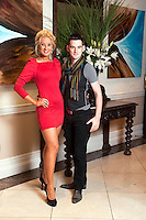 Pictued at the Muckros Park Hotel Fashion Show in aid of the Kerry Hospice were from left, Kelly McDonald, Killarney and Michael Cahill, Killarney.<br /> Picture by Don MacMonagle