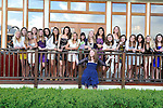 A Bat Mitzvah girl celebrates with her friends at the Delmar Hotel in Greenwich, Connecticut.