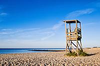 Lifeguard stand, Dennisport, Cape Cod