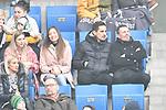 2 v.r. Hoffenheims Benjamin Huebner (Nr.21) auf der Tribuene beim Spiel in der Fussball Bundesliga, TSG 1899 Hoffenheim - Fortuna Duesseldorf.<br /> <br /> Foto © PIX-Sportfotos *** Foto ist honorarpflichtig! *** Auf Anfrage in hoeherer Qualitaet/Aufloesung. Belegexemplar erbeten. Veroeffentlichung ausschliesslich fuer journalistisch-publizistische Zwecke. For editorial use only. DFL regulations prohibit any use of photographs as image sequences and/or quasi-video.