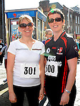 Christine callan and Eithne Murray who took part in the Saint Vincent de Paul sponsored 5Km run. Photo: Colin Bell/pressphotos.ie