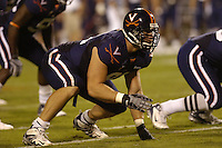 29 September 2007:  Virginia DE Chris Long (91)..The Virginia Cavaliers defeated the Pittsburgh Panthers 44-14 September 29, 2007 at Scott Stadium in Charlottesville, VA..