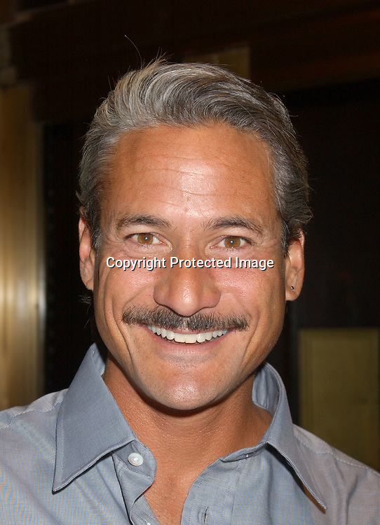 Greg Louganis                               ..at the Saks Fifth Avenue's Key to the Cure Celebrity Launch on September 17, 2003 in New York City. ..Photo By Robin Platzer, Twin Images