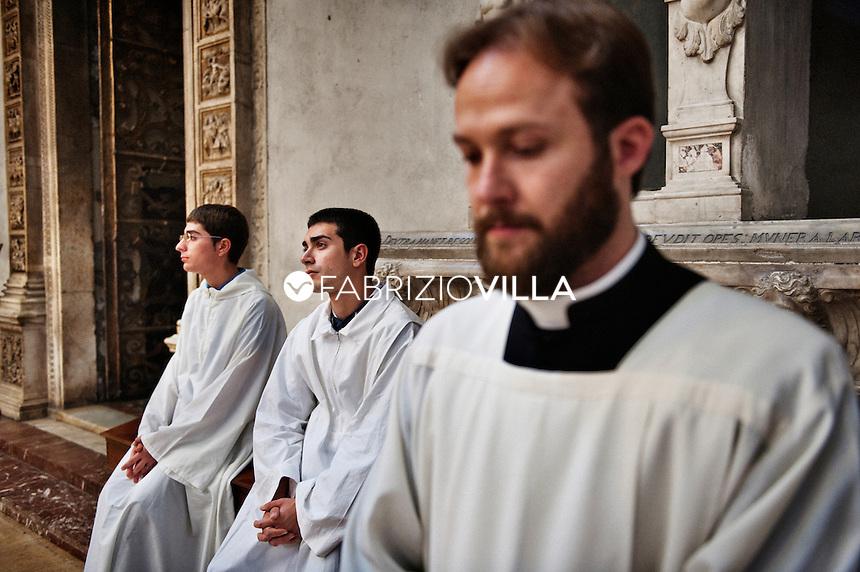 Il seminario arcivescovile di Catania.