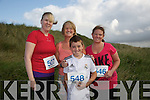 Laura Griffin, Dean Farrell, Louise Farrell, Kelly Flanagan  at the Banna 10k Run on Sunday