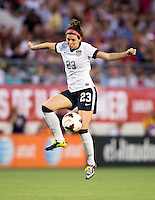 Erika Tymrak.  The USWNT defeated Brazil, 4-1, at an international friendly at the Florida Citrus Bowl in Orlando, FL.