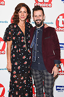 LONDON, UK. September 10, 2018: Julia Bradbury &amp; Max McMurdo at the TV Choice Awards 2018 at the Dorchester Hotel, London.<br /> Picture: Steve Vas/Featureflash