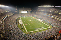 An overall view of Lincoln Financial Field in Philadelphia,  during a game between the Philadelphia Eagles and the Tampa Bay Buccaneers on August 30, 2003. (AP Photo/Chris Bernacchi)