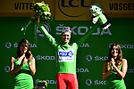 Arnaud Demare (FRA) FDJ wins Stage 4 and also takes over the points Green Jersey of the 104th edition of the Tour de France 2017, running 207.5km from Mondorf-les-Bains, Luxembourg to Vittel, France. 4th July 2017.<br /> Picture: ASO/Pauline Ballet | Cyclefile<br /> <br /> <br /> All photos usage must carry mandatory copyright credit (&copy; Cyclefile | ASO/Pauline Ballet)