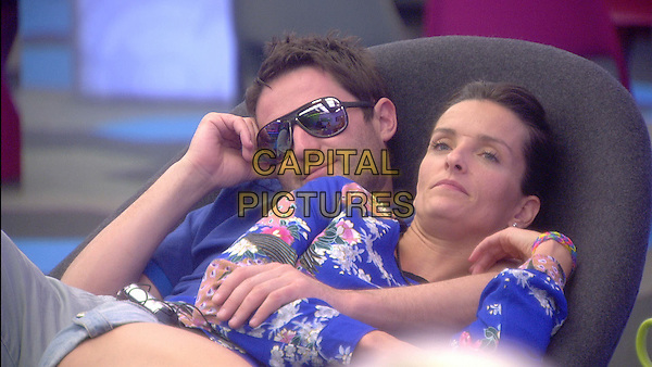 George Gilbey, Edele Lynch<br /> in Celebrity Big Brother - Summer 2014 (Day 13)<br /> *Editorial Use Only*<br /> CAP/NFS<br /> Image supplied by Capital Pictures