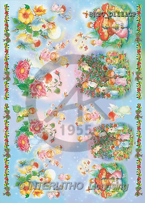 Alfredo, CHRISTMAS SANTA, SNOWMAN, decoupage, paintings(BRTOD1111CP,#X#,#DP#) Weihnachten, Navidad, illustrations, pinturas