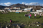 Lice, Turkey, April 6, 2015. There are no churches in Lice, but there are people who have Armenian relatives who survived the genocide and assimilated. Before the genocide, Armenians were prominent in Lice. One hundred years after the genocide, it is difficult to find hard evidence that Armenians existed here. <br /> The 100th anniversary of the Armenian Genocide will be commemorated on April 24, 2015. The Turkish government still refuses to acknowledge genocide--the systematic killing of roughly 1.5 million Armenians from 1915-1923--but Kurds in the Southeast, even some whose ancestors took part in the killing, speak openly and express remorse about what happened.